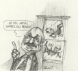 M996.10.448 | I have solid support in France! | Drawing | Serge Chapleau |  |