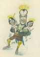 M996.10.45 | Gordie Howe and His Twins | Drawing | Serge Chapleau |  |