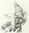 M996.10.455 | Bill 86 ... Happy New Year! | Drawing | Serge Chapleau |  |