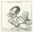M996.10.469 | The Return of Bourassa | Drawing | Serge Chapleau |  |