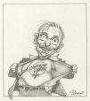 M996.10.482 | Captain Quebec | Drawing | Serge Chapleau |  |