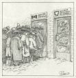 M996.10.483 | Lining up for Employment Insurance | Drawing | Serge Chapleau |  |