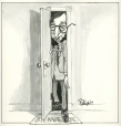 M996.10.490 | Welcome | Drawing | Serge Chapleau |  |