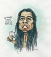 m996.10.527 | Shehaweh-Aurore Child Martyr | Drawing | Serge Chapleau |  |