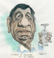 m996.10.584 | Claude Blanchard Returns to Our Screens | Drawing | Serge Chapleau |  |