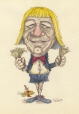 m996.10.60 | Claude Blanchard | Drawing | Serge Chapleau |  |