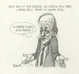 M996.10.655 | Nearly Two Years and $10 Million Later, Hôtel-Dieu Hospital Stays Downtown | Drawing | Serge Chapleau |  |