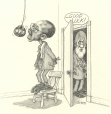 M996.10.693 | Good Luck! | Drawing | Serge Chapleau |  |