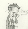 M996.10.719 | What can I do?  Feels like there's been a chip off the old bloc... | Drawing | Serge Chapleau |  |