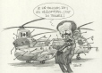 M996.10.729 | I told you before. Helicopters are nothing but trouble! | Drawing | Serge Chapleau |  |