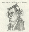 M996.10.738 | André Ouellet Tunes in to Quebec | Drawing | Serge Chapleau |  |