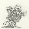 M996.10.742 | Time to Put the Old Party Heads in Storage | Drawing | Serge Chapleau |  |