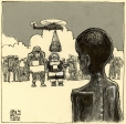 m996.11.100 | Santa in Somalia | Drawing | Aislin (alias Terry Mosher) |  |