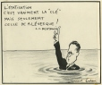 M997.63.230 | Nationalization is the key! | Drawing | Normand Hudon |  |