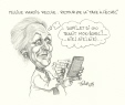 M998.51.105 | Pauline Marois and the Return of the Failure Tax | Drawing | Serge Chapleau |  |