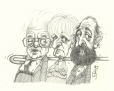 M998.51.28 | Bouchard Government Attacks Union Leaders | Drawing | Serge Chapleau |  |