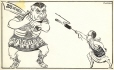 M999.66.17 | Diefenbaker vs. Pearson | Drawing | Peter Kuch |  |