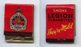 2002.93 | Smite Legion Cigarettes | Matches | Frederick Doig, Canadian, 1875-1949 |  |