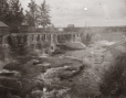 MP-0000.1105.5 | Dam at Roberval, Lac St. Jean region, QC, about 1910 | Photograph |  |  |