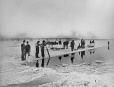 MP-0000.1452.40 | Ice cutting, St. Lawrence River at Montreal, QC, about 1870 | Photograph | Alexander Henderson |  |