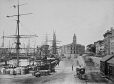 MP-0000.1452.51 | Montreal harbour near Custom House, QC, 1865-75 | Photograph | Alexander Henderson |  |