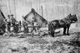 MP-0000.1828.10.2 | Bringing in the sap, Eastern Townships?, QC, about 1870 | Photograph | Stanley G. Triggs |  |