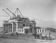 MP-0000.2094.5 | Construction de la gare du CP de l'avenue du Parc, Montréal, QC, 1931 | Photographie | Associated Screen News Ltd. |  |