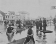 MP-0000.236.9 | Flood, Chaboillez Square, Montreal, QC, about 1886 | Photograph | George Charles Arless |  | 
