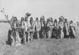 MP-0000.338.4 | Blackfoot Indian group, Calgary, AB, about 1925 | Photograph | H. Pollard |  |