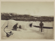 MP-0000.391.4 | Building an igloo, Little Whale River, QC, 1874 | Photograph | James Laurence Cotter |  |