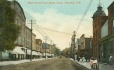MP-0000.624.12 | Main Street from Minto Hotel, Moncton, NB, about 1910 | Print |  |  |