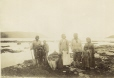 MP-0000.639.12 | Innu family, Esquimaux Bay, Labrador, NL, about 1885 | Photograph | H. J. R. |  |