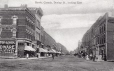 MP-0000.652.16   Dunlop Street looking east, Barrie, ON, about 1910   Print        