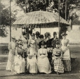 MP-0000.827.5   The Cigar Stand, Sohmer Park, Montreal, QC, 1890, copied about 1910   Print   Cumming & Brewis     