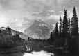 MP-1974.4.18 | Mont Rundle, Parc national canadien, Banff, Alb., 1892 | Photographie | Alexander Henderson |  |