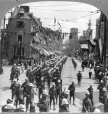 MP-1981.94.16.1 | Infantry from Quebec Province, in parade, Quebec Tercentenary, Quebec City, QC, 1908 | Photograph | Keystone View Company |  |