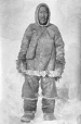 MP-1984.126.20 | A native of Repulse Bay, and one of the H. B. Co.'s best hunters, Igluligaarjuk (Chesterfield Inlet), NU, 1919-21 | Photograph | Frederick W. Berchem |  |
