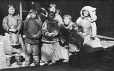 "MP-1984.127.27 | Inuit group, in fore-hold of S. S. ""Nascopie"", 1926 