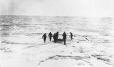 MP-1984.127.99   Waiting to be picked up, seal hunt, 1927   Photograph   Frederick W. Berchem ?; Captain George E. Mack ?     