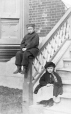MP-1986.5.1.20 | John J. and Mary L. Frothingham on steps, Montreal, QC, 1863 | Photograph | The Hon. Col. Robert Rollo |  |