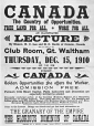 MP-1987.34.1 | Canada, the country of opportunities, poster, ON, 1910 | Poster | A. Driver &amp; Sons |  | 