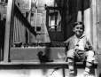 MP-1992.21.1.8 | Omer Lavallee and toy train, Montreal, QC, about 1935 | Photograph | Anonyme - Anonymous |  |