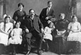 MP-1997.22.66 | Ludger Gravel and his family, Montreal?, about 1915 | Photograph |  |  |