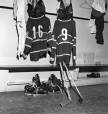 "MP-1999.5.5032.4 | Montreal Canadiens hockey equipment used by Henri Richard and Maurice ""Rocket Richard"", Montreal, QC, about 1960 