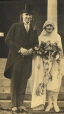 N-1975.41.15 | Geoffrey Notman and Grace on their wedding day, 1925 | Photograph | Anonyme - Anonymous |  |