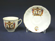 1943.21.1 | Royal Visit to Canada, 1939 | Teacup | Alfred Meakin Ltd. |  |