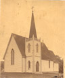 1963.135F | Saint John's Church, Gagetown, New Brunswick | Photograph | John B. Wallace |  |
