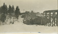1988.5.6 | View of the Moncton & Buctouche Railway Wreck at Scotch Settlement, New Brunswick | Postcard | J. S. Ross |  |
