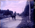 1989.181.32 | Two Carriages with Drivers and Horses, New Brunswick | Photograph | Frederick Doig, Canadian, 1875-1949 |  |