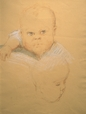 1992.14.22 | Two Infants' Heads | Drawing | Camille Roche |  |